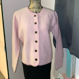 Pink Vintage Sweater by Tally Ho Creations